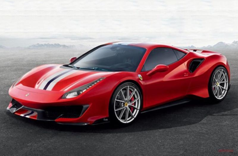 Cover for Ferrari 488 Pista - pictures and specs leak ahead of launch