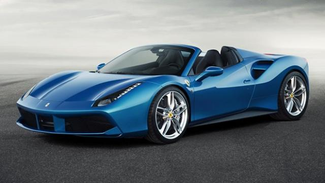Image of Ferrari 488 Spider