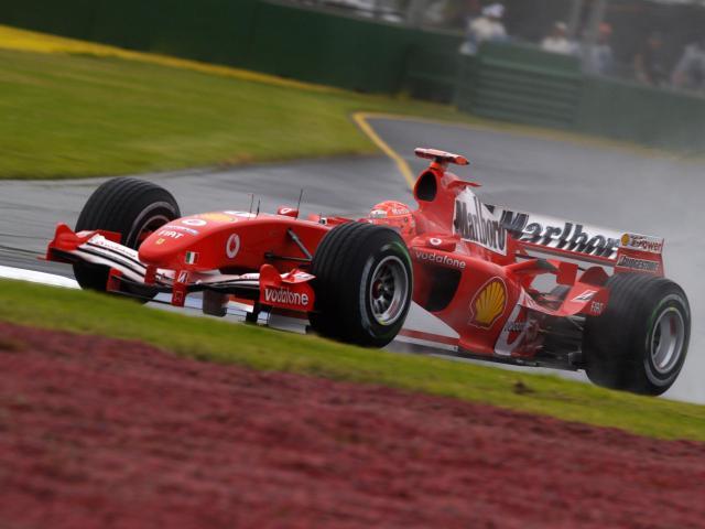 Image of Ferrari F2004