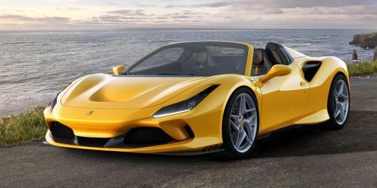 Image of Ferrari F8 Spider