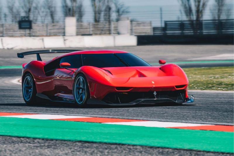 Cover for Ferrari P80/C