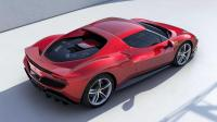 Cover for Ferrari reveals 296 GTB - 6 cylinder mid-engine coupe