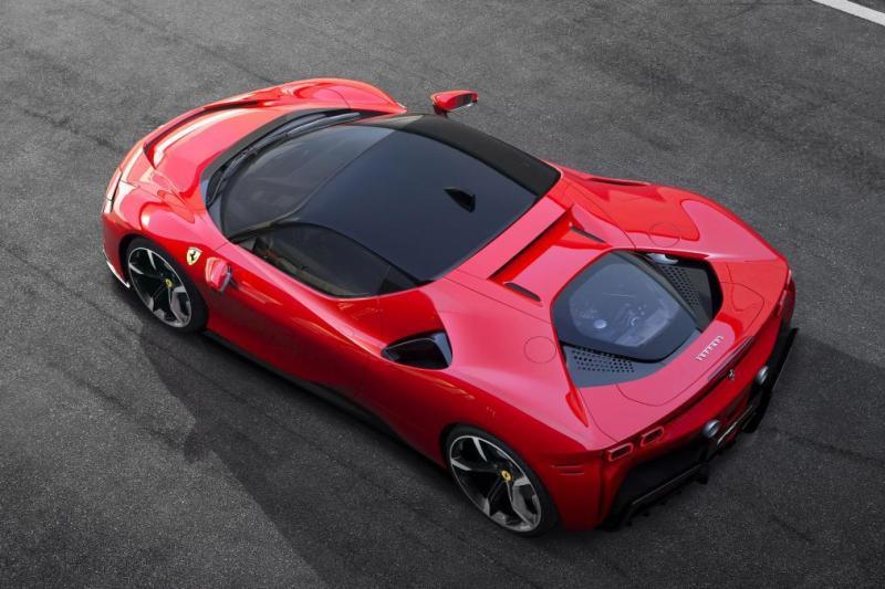 Ferrari Reveals Its New Halo Car Ferrari Sf90 Stradale Fastestlaps Com