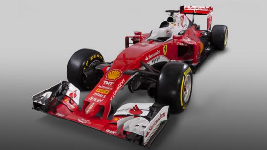 Image of Ferrari SF15-T