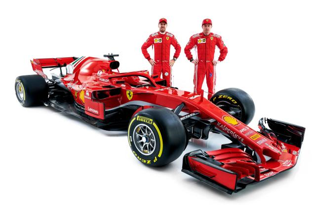 Image of Ferrari SF71H