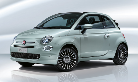 Image of Fiat 500 Hybrid Convertible