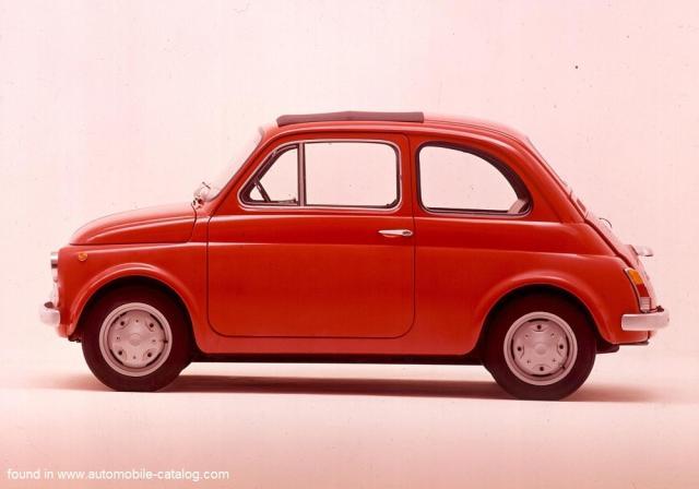 Image of Fiat 500 R