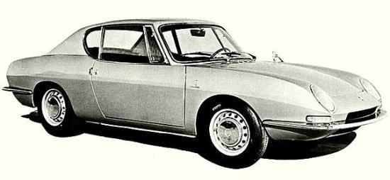 Image of Fiat Abarth OTR 1000 Coupe Bertone