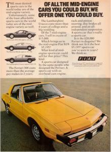 Photo of Fiat X1/9 1500