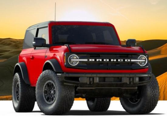 Image of Ford Bronco Wildtrak