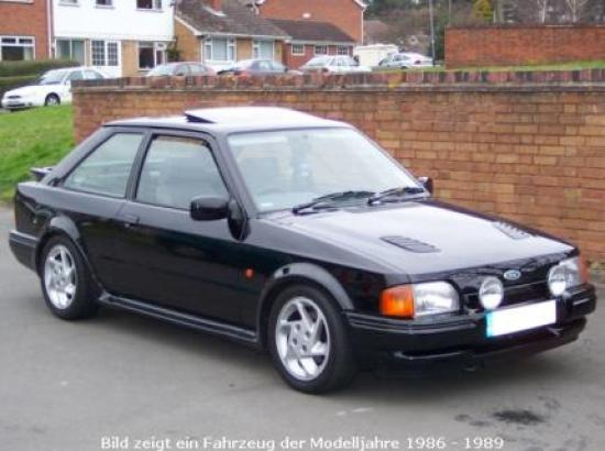 Image of Ford Escort RS Turbo S2