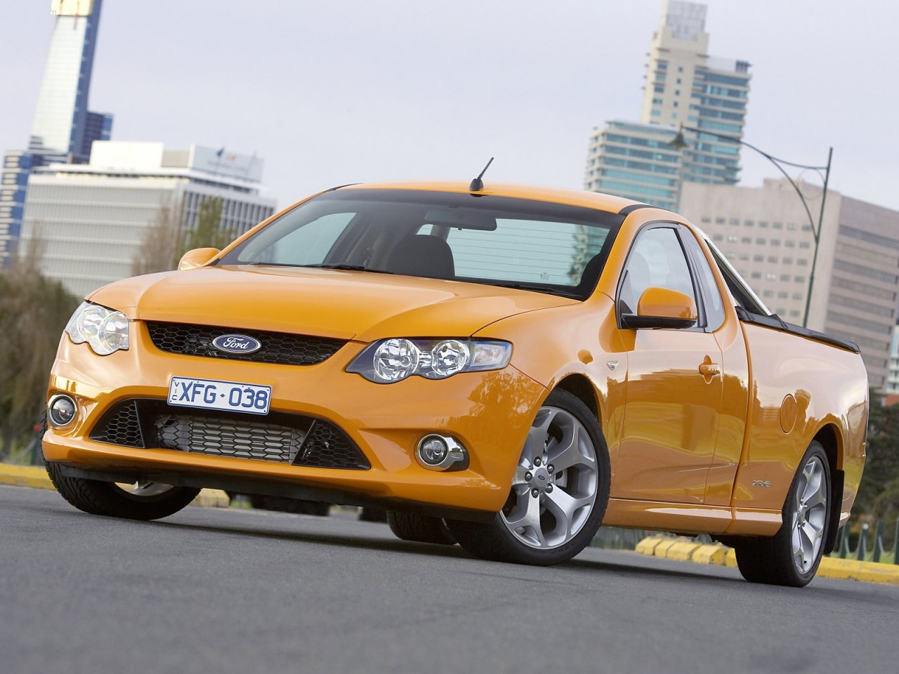 Ford Fg Falcon Xr6 Ute Specs 0 60 Lap Times Performance Data
