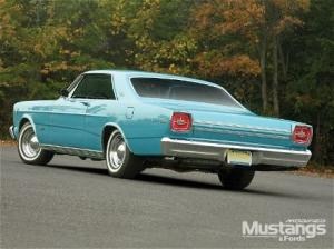 Photo of Ford Galaxie Fastback R Code
