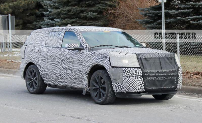 Cover for Ford is finally working on high-performance SUVs