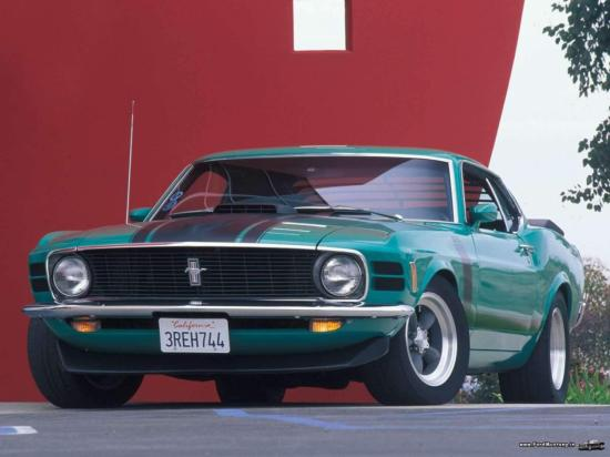 Image of Ford Mustang BOSS 302