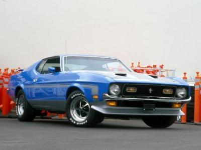 Image of Ford Mustang Boss 351 Ram Air
