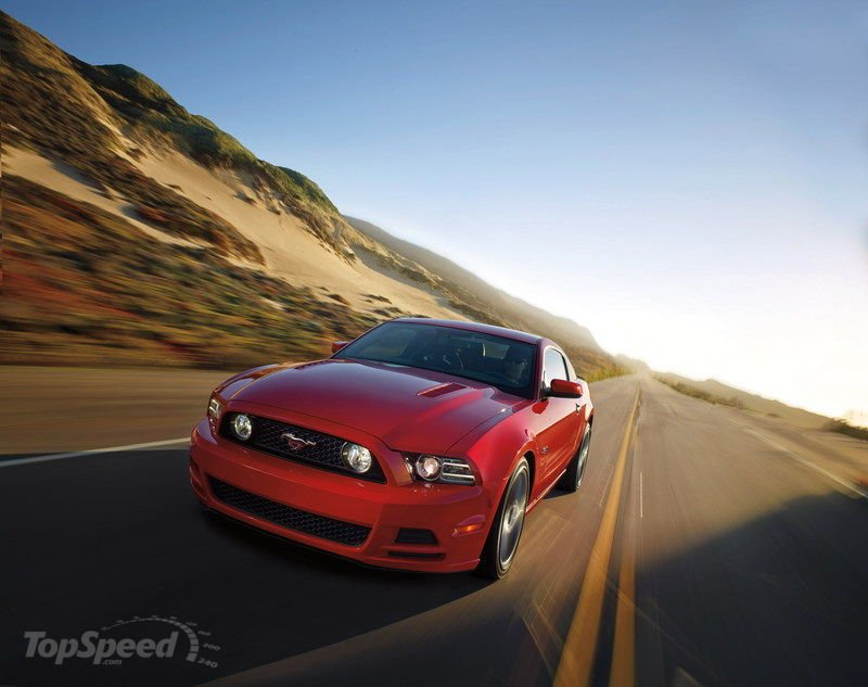 Ford Mustang GT laptimes, specs, performance data