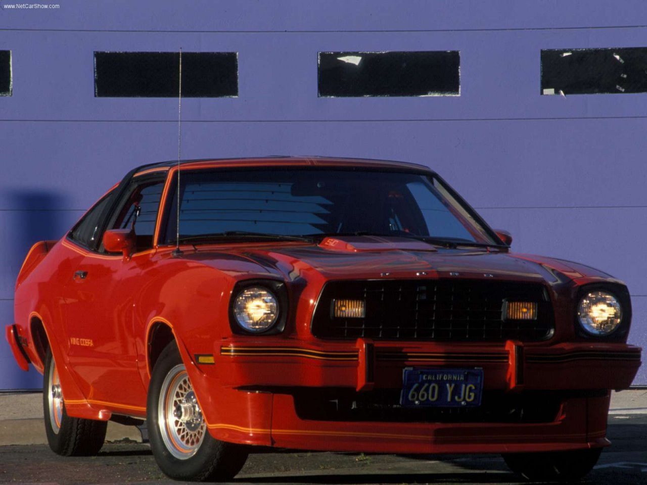 Image of ford mustang ii king cobra