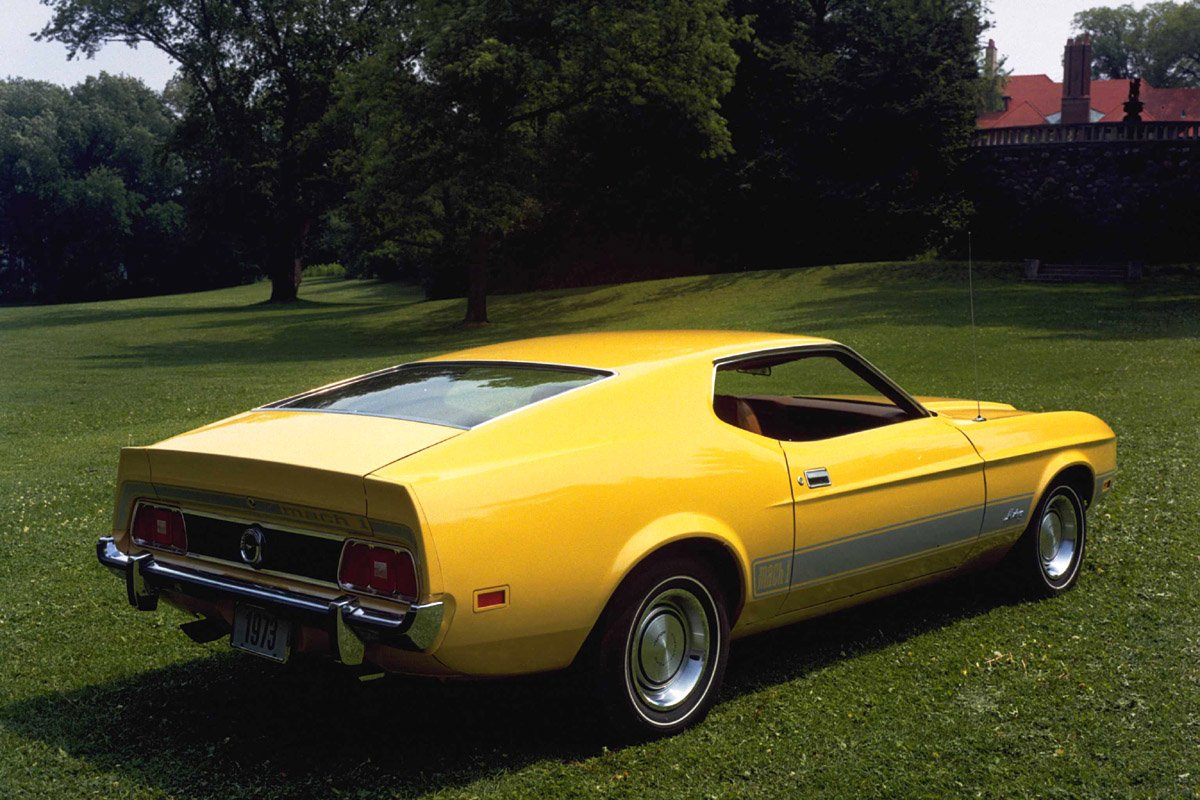 Image of ford mustang mach 1