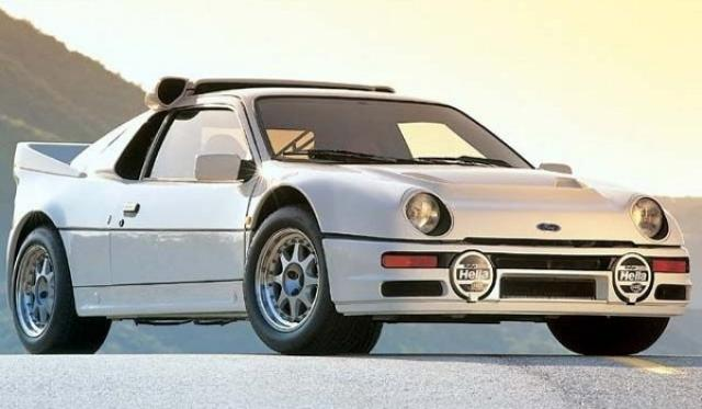Image of Ford RS200 S
