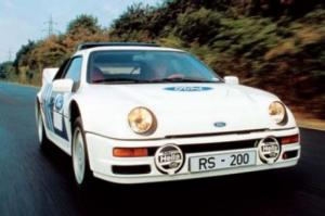 Photo of Ford RS200
