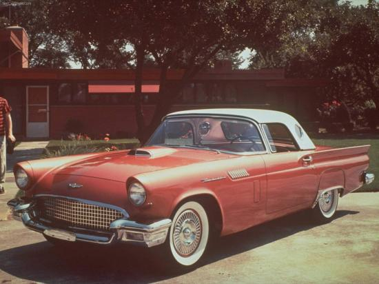 Image of Ford Thunderbird Supercharged