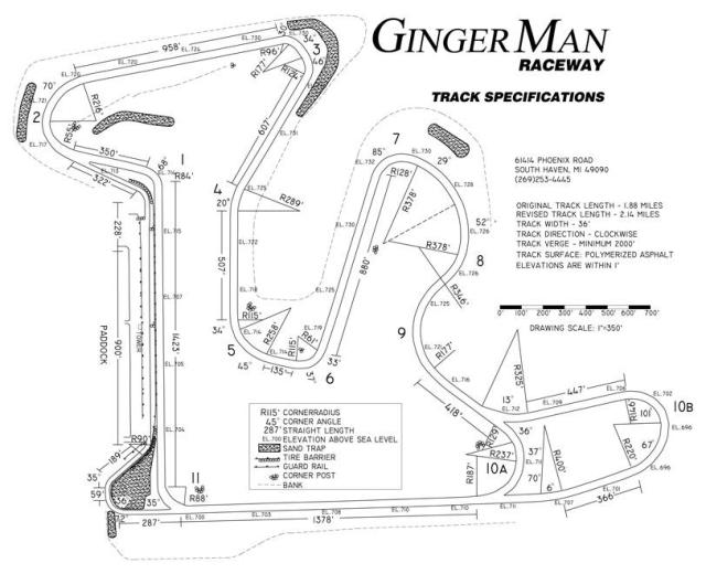 Image of GingerMan Raceway