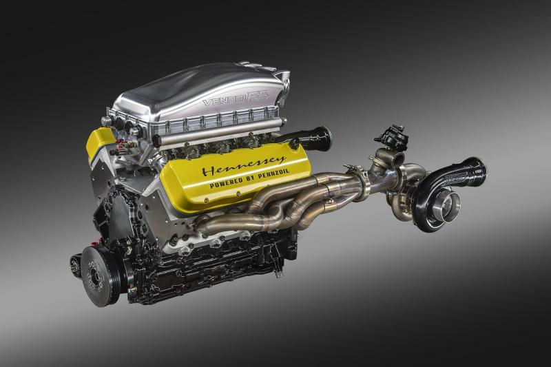 Cover for Hennessey Venom F5 Engine Tested