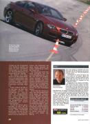 Cover for Here is driver Horst von Saurma from BMW m6 E63 super test 12/2005