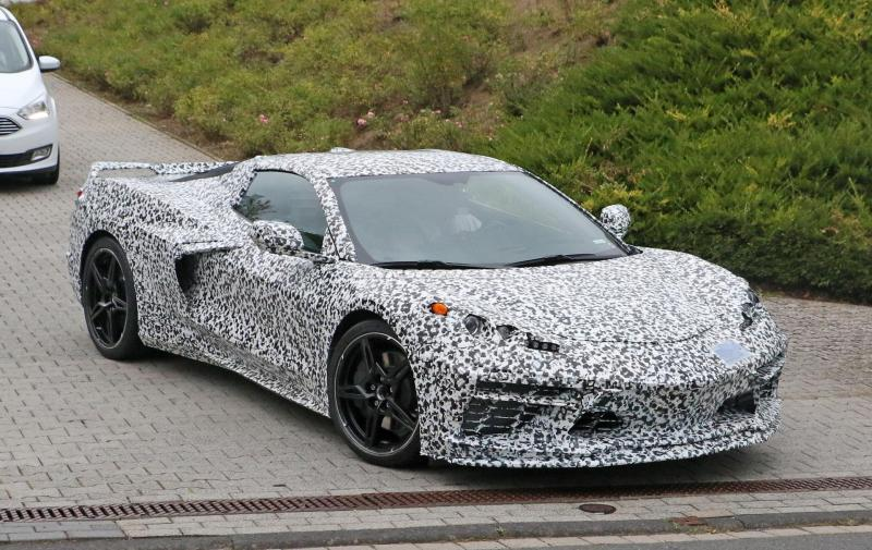 Cover for Here's Your Best Look Yet at the Mid-Engine Corvette