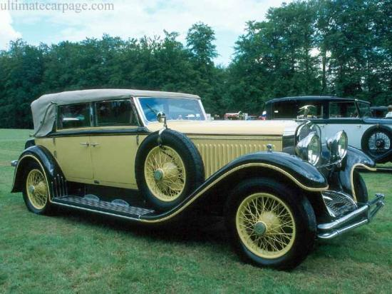 Image of Hispano Suiza H6B Erdmann & Rossi Cabriolet