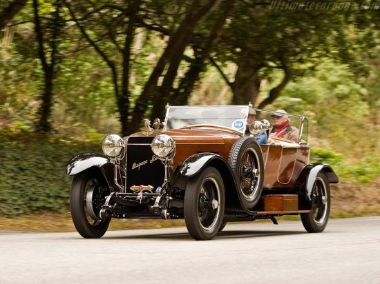 Image of Hispano Suiza H6B Labourdette Skiff