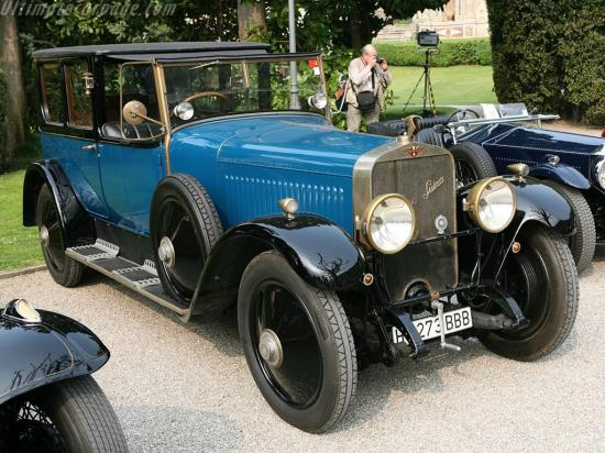 Image of Hispano Suiza H6B Mitchel Landaulet