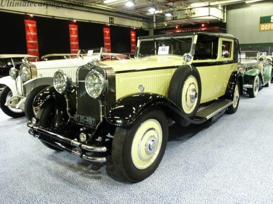 Image of Hispano Suiza H6C Kellner Landaulet