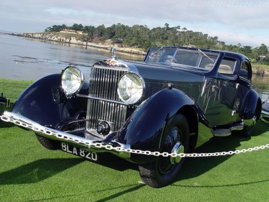 Image of Hispano Suiza K6 Fernandez & Darrin Coupe Chauffeur