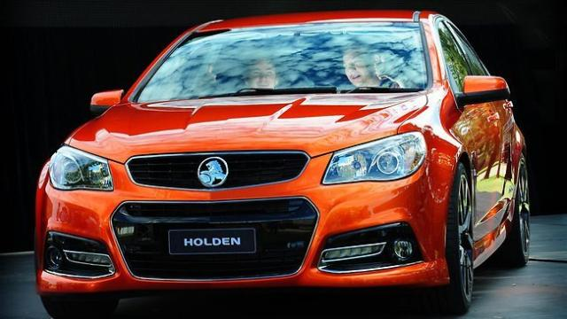 Image of Holden Commodore SS-V
