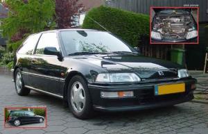Photo of Honda Civic SiR 1.6i-VT