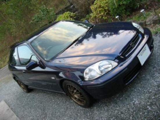 Image of Honda Civic SiRII