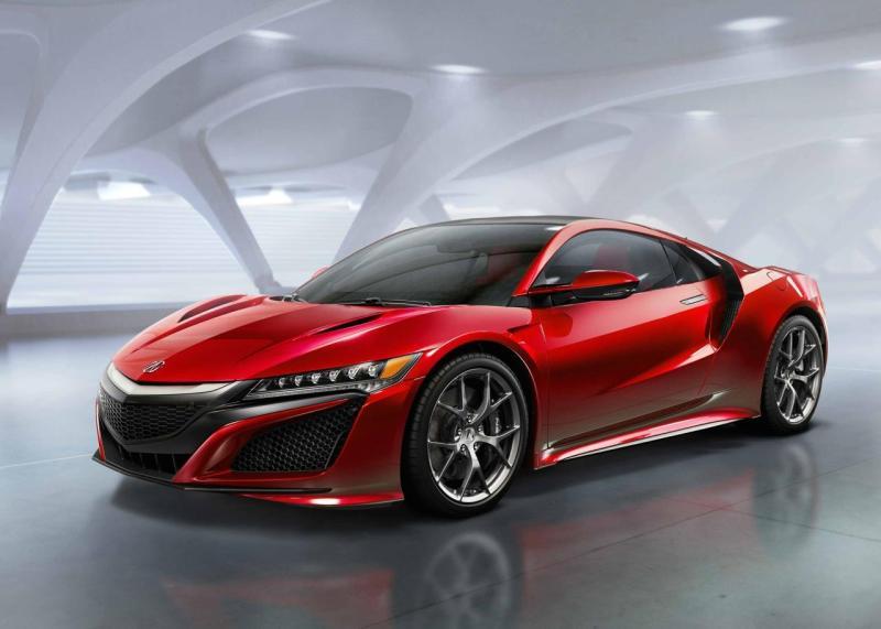 Cover for Honda reveals production NSX