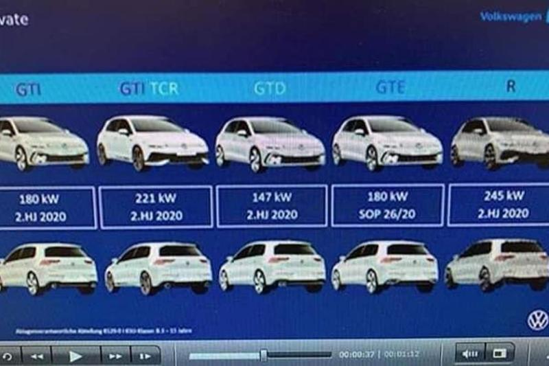 Cover for Horsepower numbers leaked for new MK8 Golf GTI and Golf R