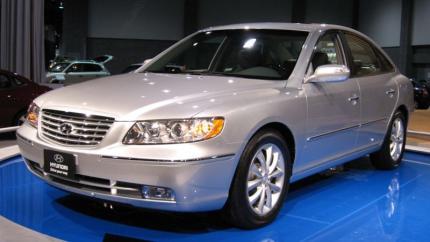 Hyundai Azera Laptimes Specs Performance Data