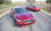 Image of Infiniti Q50 Red Sport 400