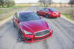 Picture of Infiniti Q50 Red Sport 400