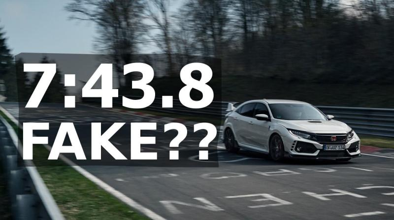 Cover for Is the Honda Civic Type-R Nürburgring Nordschleife front wheel drive record legit?