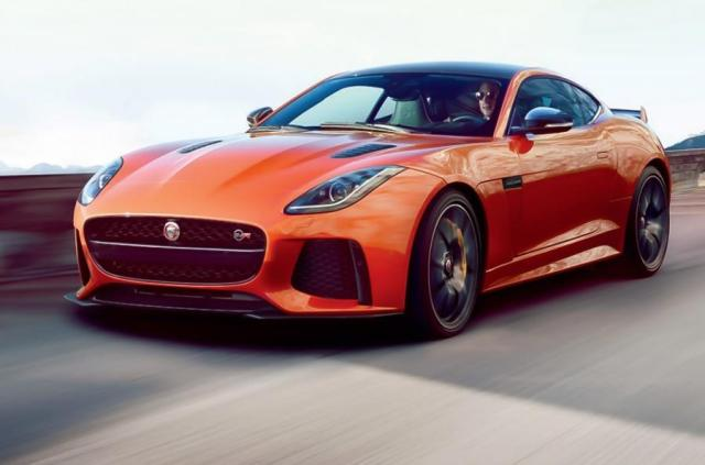 Image of Jaguar F-Type SVR