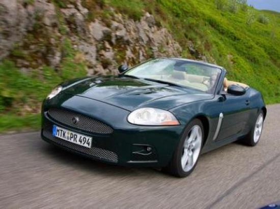 Image of Jaguar XKR convertible