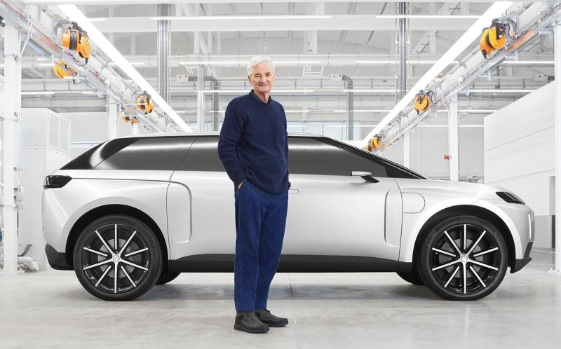 Cover for James Dyson reveals what could've been with his cancelled EV project.