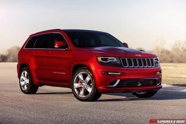 Image of Jeep Grand Cherokee SRT8