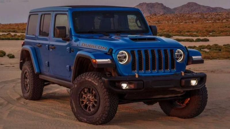 Cover for Jeep's answer to the Ford Bronco