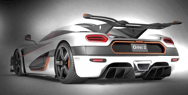 Image of Koenigsegg One:1
